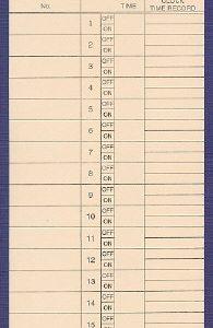 CARDSPP2 clock cards