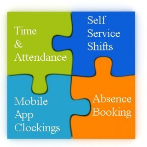 integrated cloud based time attendance