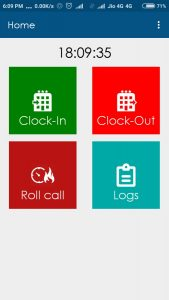 mobile app for cloud based time attendance