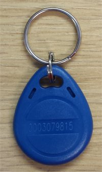 PrimeTime Web RFID attendance cards and Keyfob/tokens
