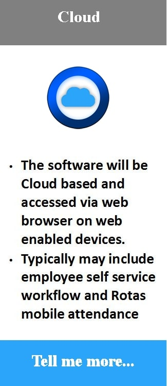 Cloud Time Attendance software